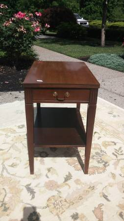 Side Table $35 View on Craigslist