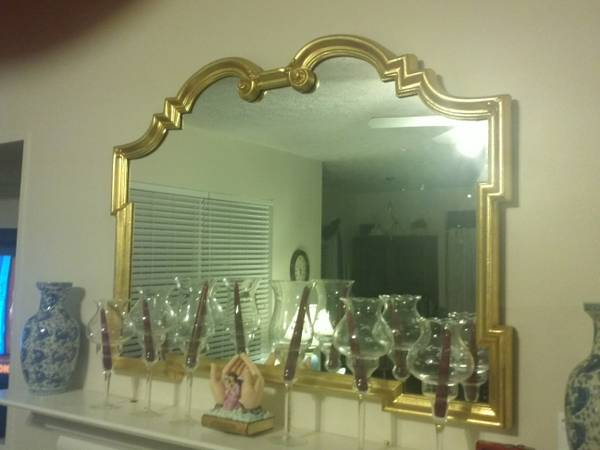 Ethan Allen Gold Mirror $75 View on Craigslist