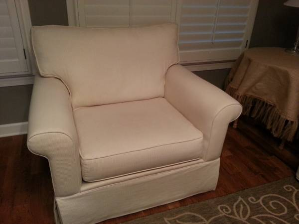 Pinstripe Armchair     $150     View on Craigslist