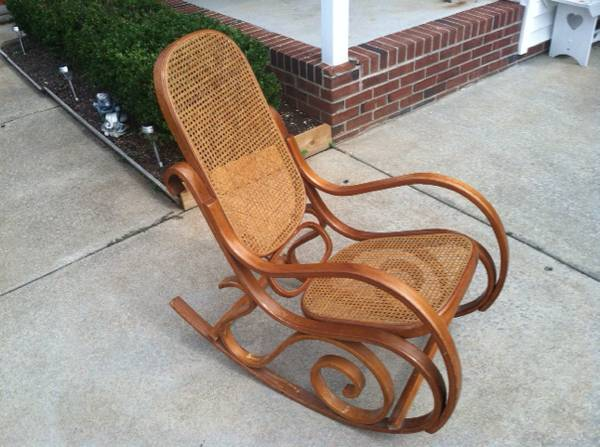 Vintage Bentwood Rocker $30 View on Craigslist