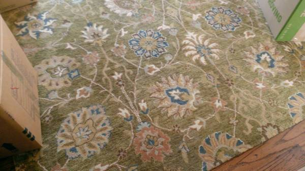 8' x 10' Rug     $90     View on Craigslist
