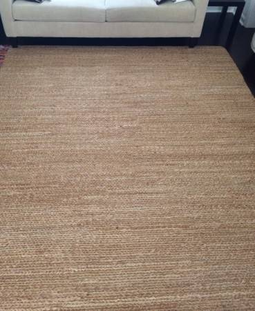 Pottery Barn Jute 8' x 10' Rug     $400     View on Craigslist