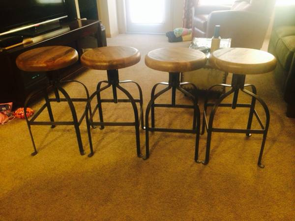 World Market Bar Stools     $300   These stools retail for $99 each.    View on Craigslist