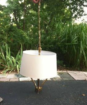 Brass 3 Light Chandelier     $110     View on Craigslist