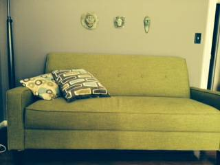 Green Love Seat     $140     View on Craigslist