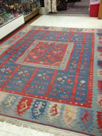 9' x 11' Wool Rug $265 View on Craigslist