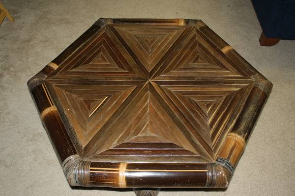 Bamboo Coffee Table $50 View on Craigslist