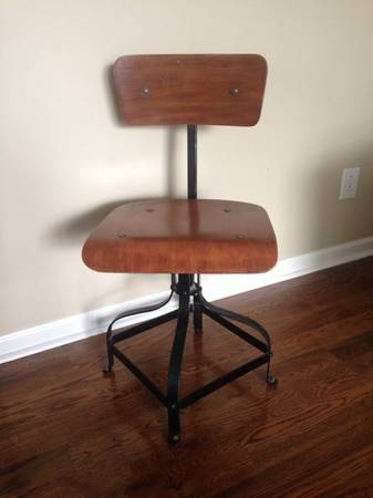 Industrial Style Chair     $50   This would be a great desk chair.    View on Craigslist