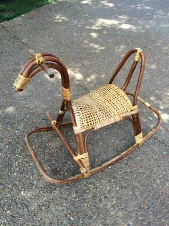 Antique Rocking Horse $35 View on Craigslist