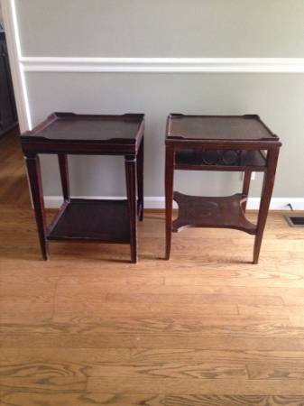 End Tables $30 View on Craigslist