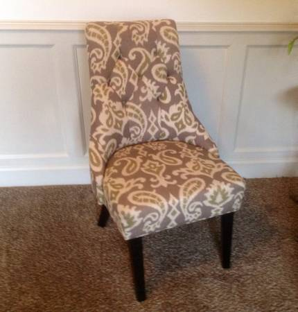 Pair of Upholstered Chairs     $100     View on Craigslist
