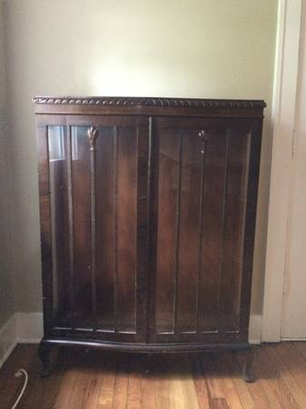 Antique Cabinet Free View on Craigslist