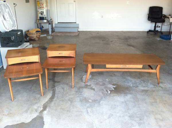 Mid Century Furniture Set     $300     View on Craigslist