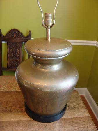 Vintage Brass Lamp Base     $40     View on Craigslist