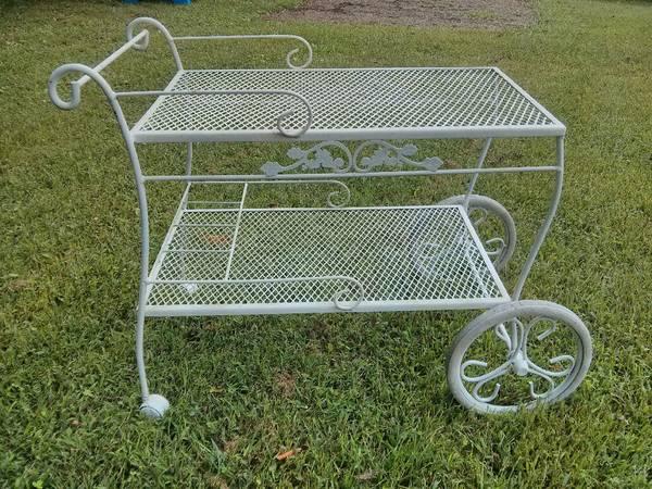 Metal Patio Cart     $40     View on Craigslist