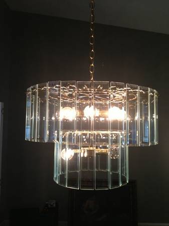 Chandelier     $60   Looking to add a little glam to your dining room - this fixture would be perfect.     View on Craigslist