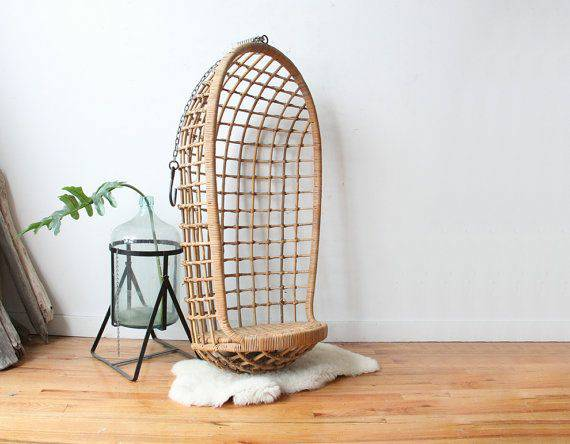 Vintage Hanging Egg Chair     $500     View on Craigslist