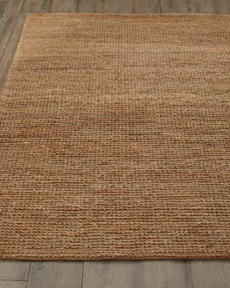 8' x 10' Jute Rug $100 View on Craigslist