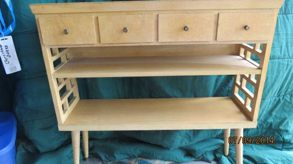 Mid Century Modern Bookshelf $50 View on Craigslist