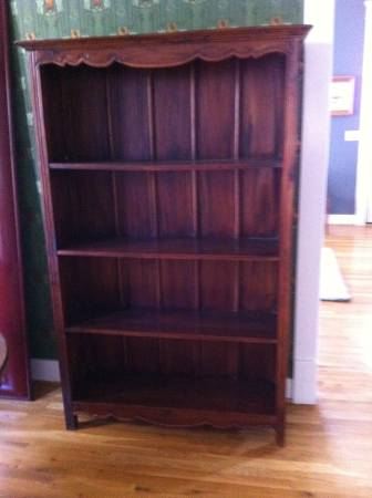 Wooden Bookshelf $200 View on Craigslist