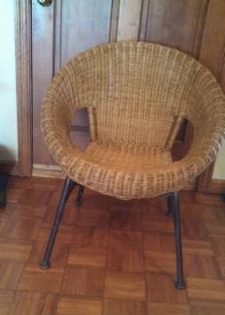 Wicker Chair     $45     View on Craigslist