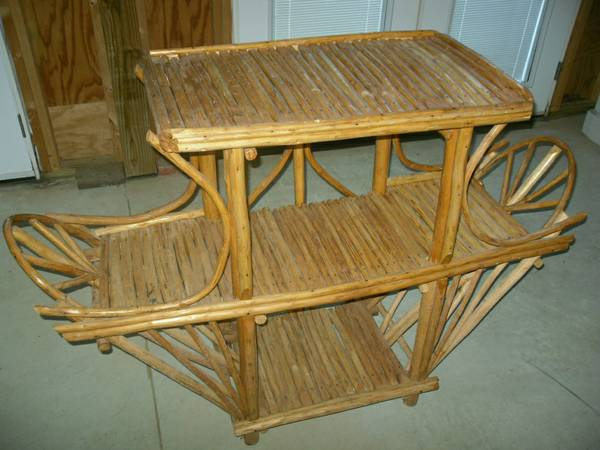 Rattan/Bamboo Shelf     $50     View on Craigslist