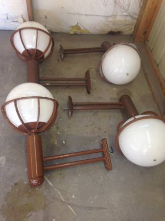 Art Deco Lights $65 each View on Craigslist