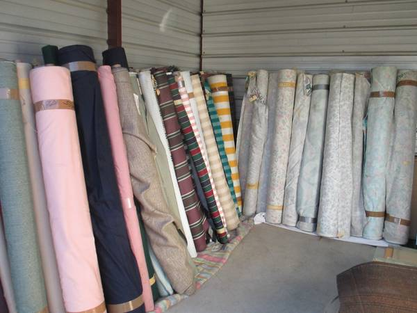 Home Decor Fabric     $1 yard   This is a great deal on fabric. They are liquidating designer fabric from a high end furniture store. Definitely worth checking it out if you are looking for fabric.     View on Craigslist