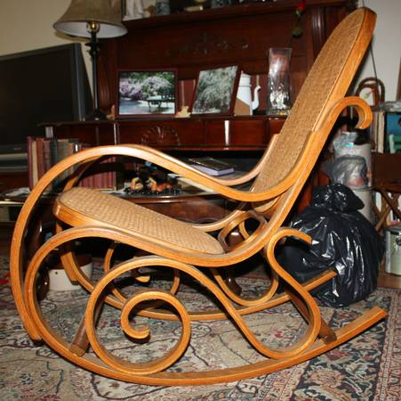 Bentwood Rocker     $25     View on Craigslist