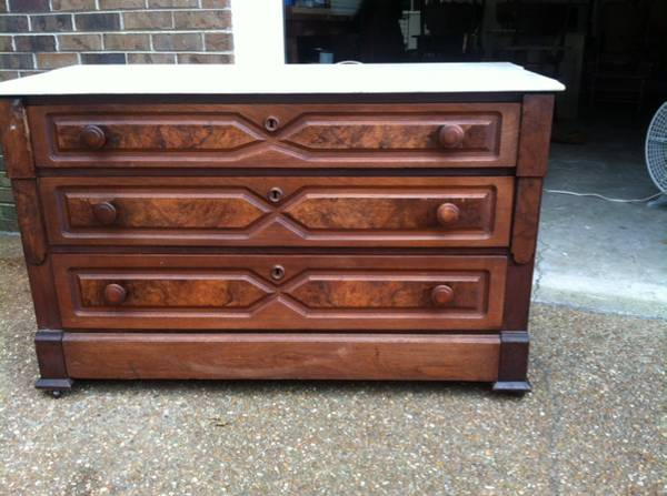 Marble Top Dresser     $149     View on Craigslist