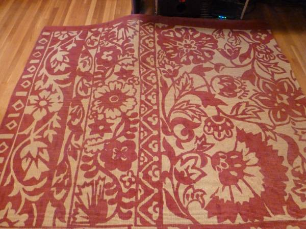 Pottery Barn Batik 5' x 8' Jute Rug     $75     View on Craigslist