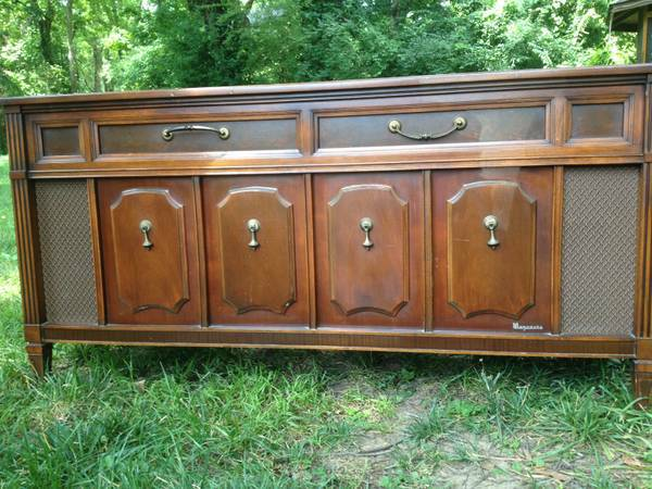 Vintage Stereo Cabinet/Buffet $100 View on Craigslist