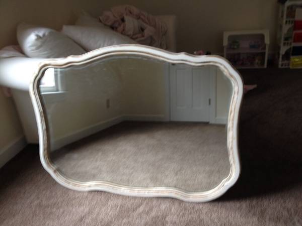 French Provincial Mirror $45 View on Craigslist