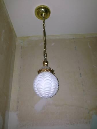 Pair of Vintage Pendant Lights     $50   I love these vintage lights.    View on Craigslist