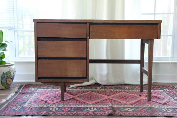 Mid Century Desk $60 View on Craigslist