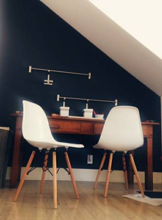 Pair of Eames Style Chairs     $150     View on Craigslist