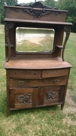 Antique Hutch $250 View on Craigslist