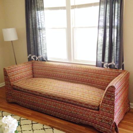 Mid Century Modern Sofa $650 View on Craigslist