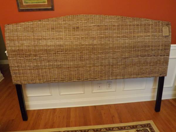 Rattan King Headboard     $100     View on Craigslist