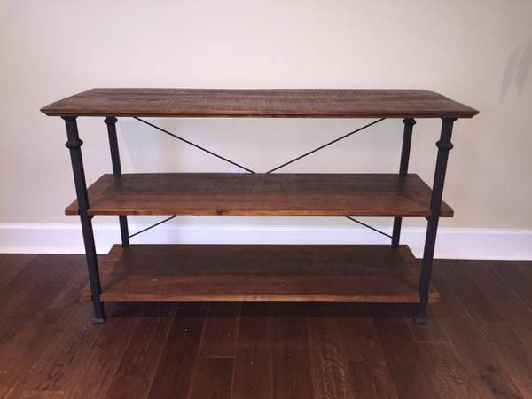 Industrial TV Stand     $200   This tv stand is from  Overstock  and retails for $271.50.    View on Craigslist