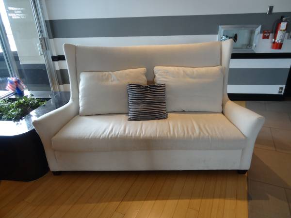 White Sofa     $400     View on Craigslist