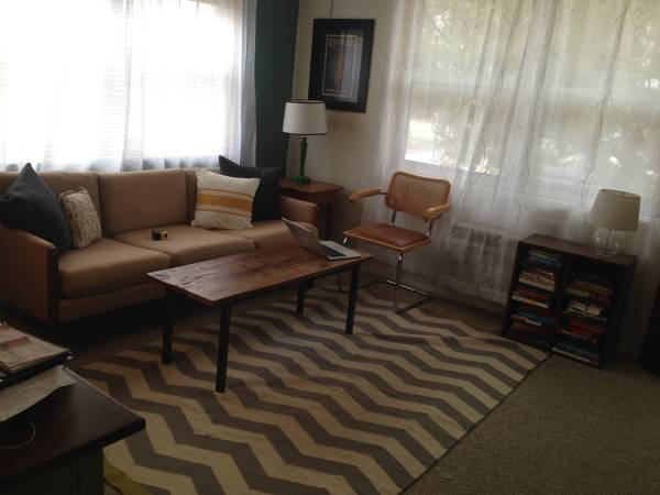 West Elm Chevron Rug $125 View on Craigslist