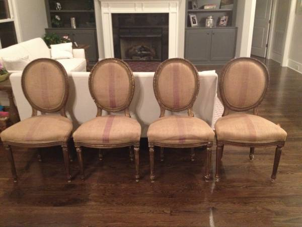 Set of French Style Chairs     $600     View on Craigslist