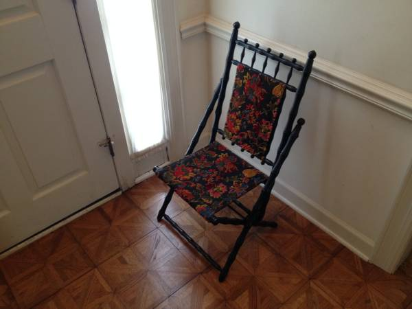 Antique Folding Chair $55 View on Craigslist