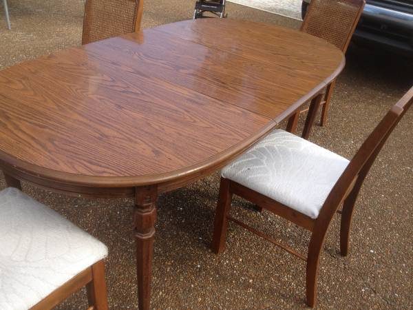 Dining Table and Chairs     $125     View on Craigslist