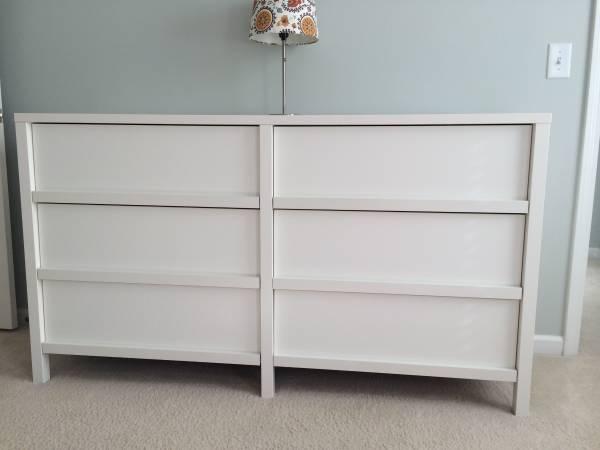 White Modern Dresser     $130     View on Craigslist