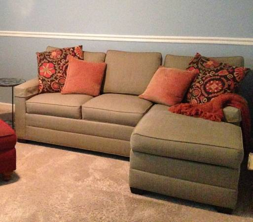 Ethan Allen Sectional     $1500   This is a good neutral sectional and was originally $3200.    View on Craigslist