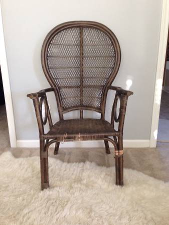 Vintage Wicker Chair     $25     View on Craigslist