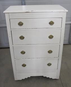 Dresser and Chest of Drawers     $80   These are 2 pieces for $80 - this is a good deal and just need a little tlc.    View on Craigslist