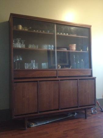 Mid Century Modern China Cabinet     $300     View on Craigslist